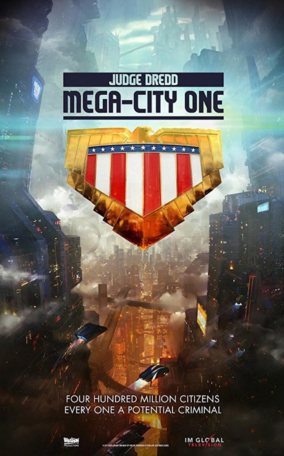 Rebellion's first product, Mega City One, was closed in production prisons, partly because of the lack of studio in U.K.