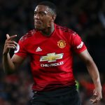 Martial on for player, Nemanja Matic