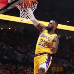 LeBron James Finally succeeded to win Column as LA Lakers Rout Phoenix Suns