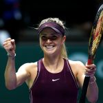 Elina Svitolina, Karolina Pliskova As a matter of fact, Caroline Wozniacki from Singapore