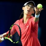 China's Zheng Saisai leads the WTA Mumbai Open
