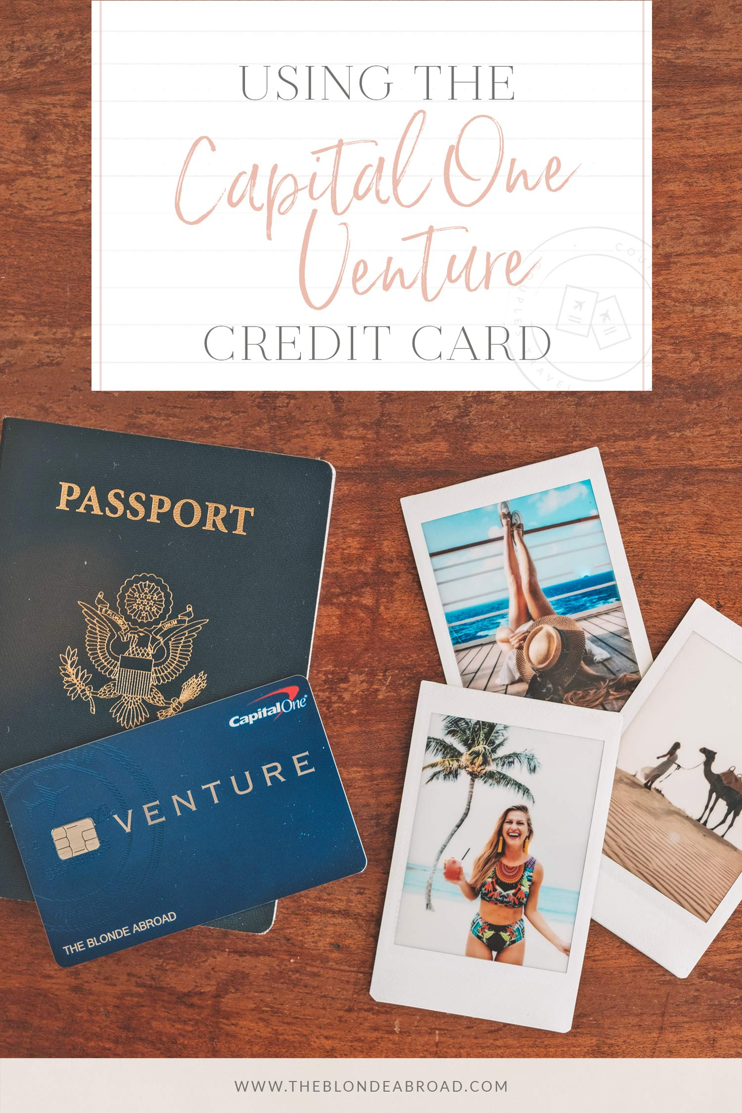 Using the One-Day Capital One Card