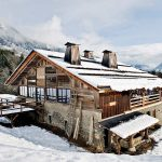 Lionel Jadot stoned a stone and a lift to create an Alpine Cabin