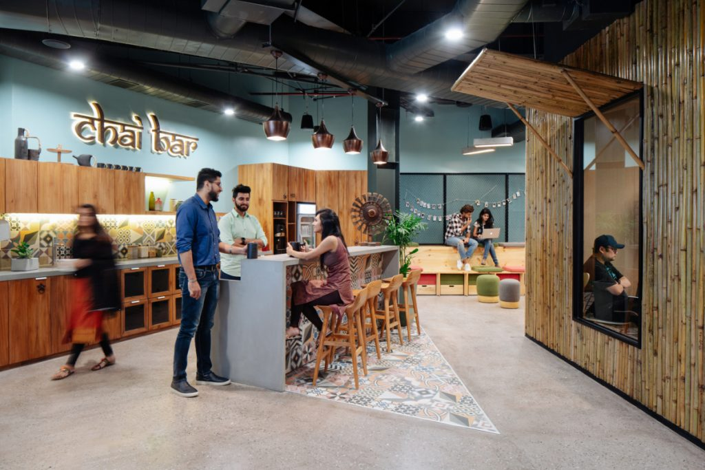 Indian Airbnb offices created by Space Matrix combine creativity and enjoyment of travel