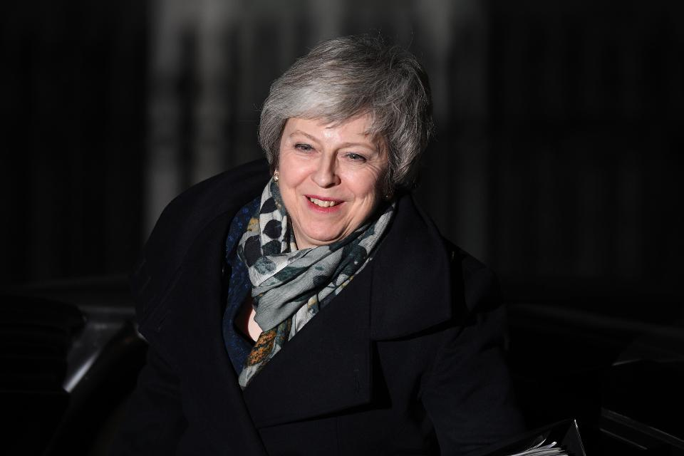 Theresa May survived an assertion of trust with her leadership in Brexit.