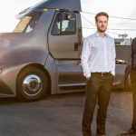 Will-Be Tesla Semi Racing Thor Thu Gets Electricity With Electricity