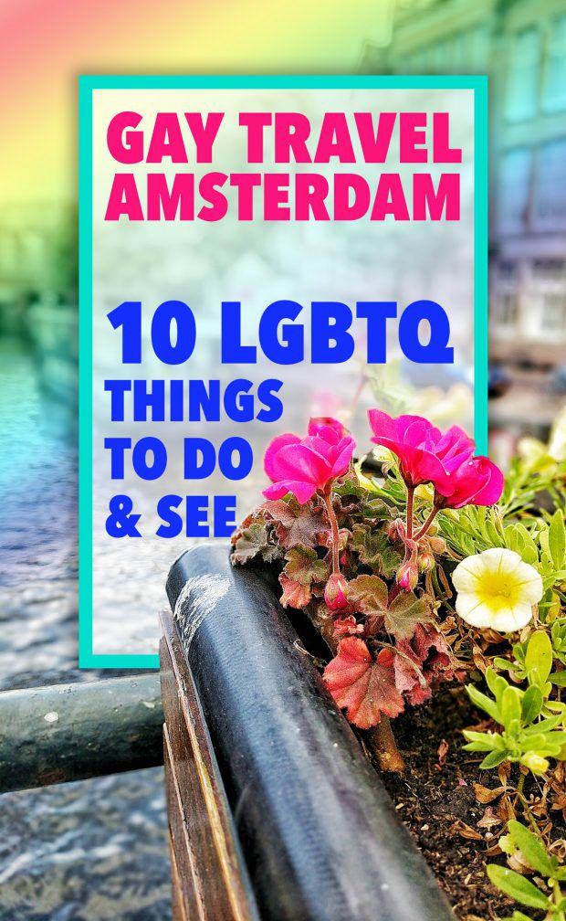 Amsterdam Travel Guide for Gay - Travel Ad