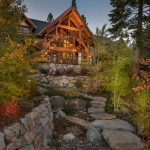 Luxury Lake Lodge created by Ward-Yonge Architecture to provide an old family