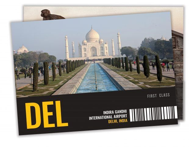 India Post Cards - Human Travels
