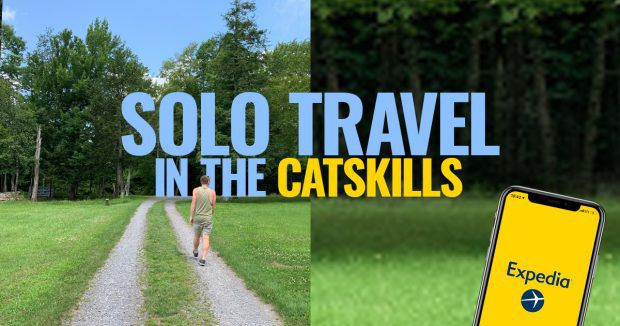 Solo Trip to Catskills Road with Expedia