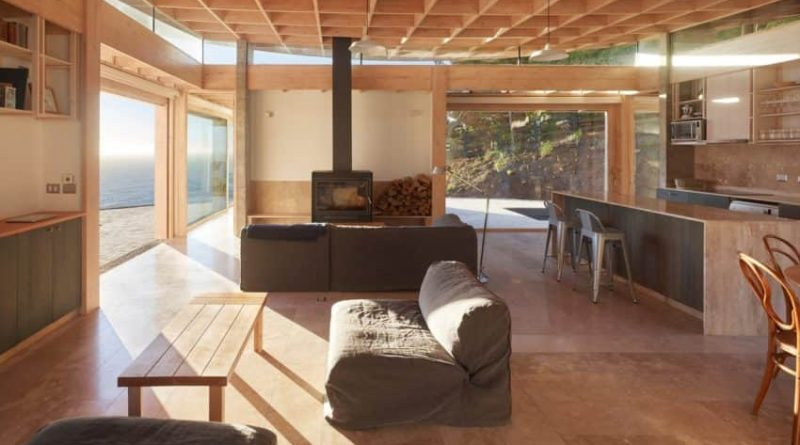 The Oceanside House of Matanzas was created by Cristian Izquierdo Lehmann of Chile