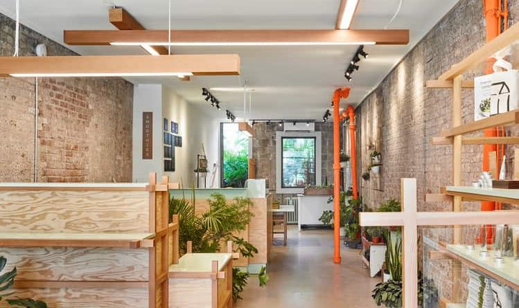 Downstairs rabbit shop created by Kilogram Studio in a beautiful 100 year old location