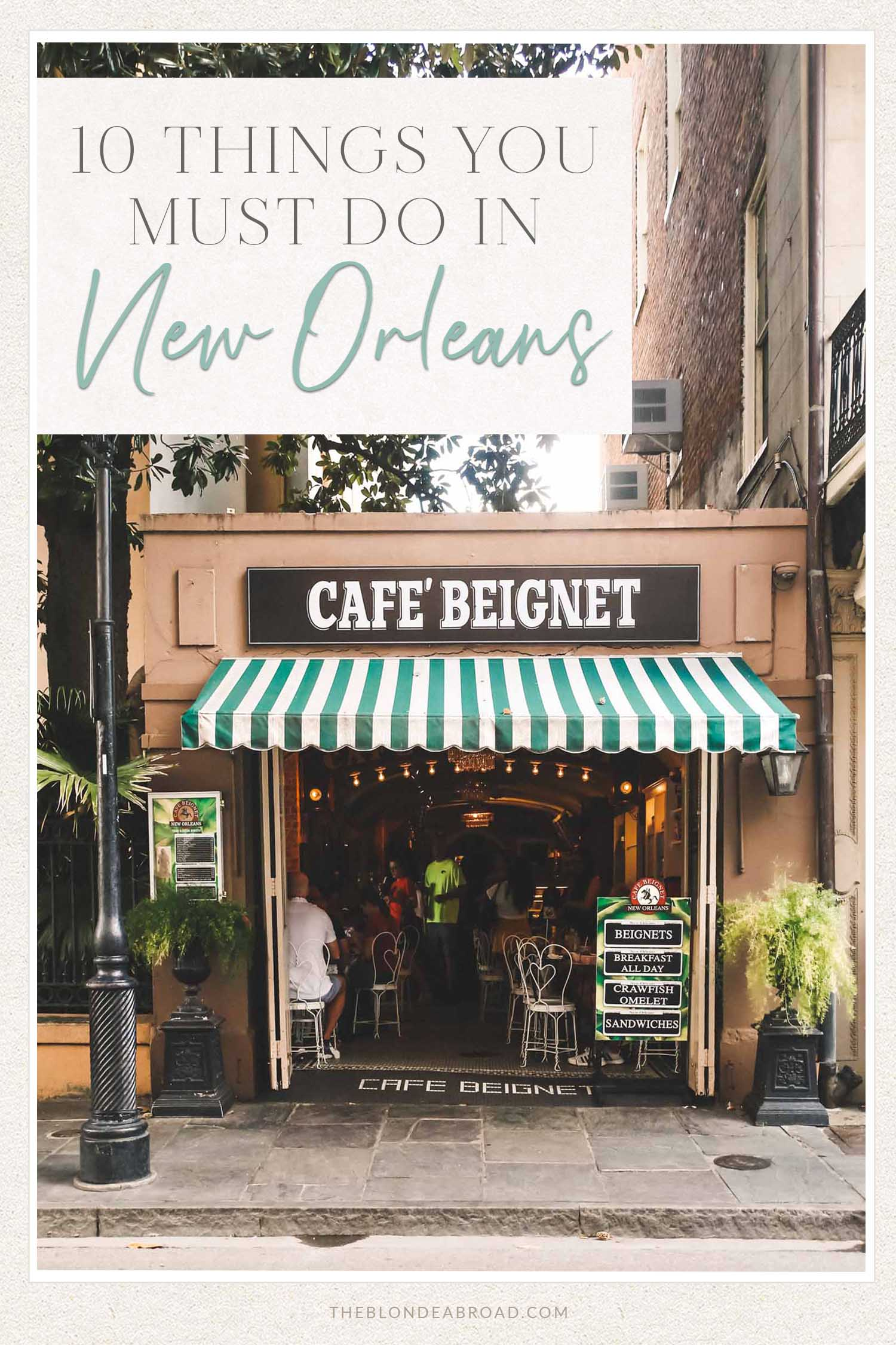 10 things to do with Nola