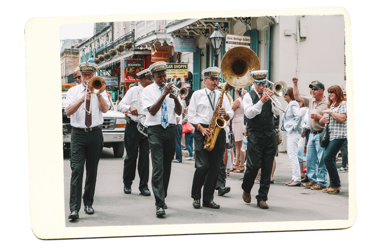 Second line Nola Jazz