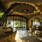 Bisate Lodge Designed by Nicholas Plewman Architects with Rolling Rwandan Hills for Inspiration
