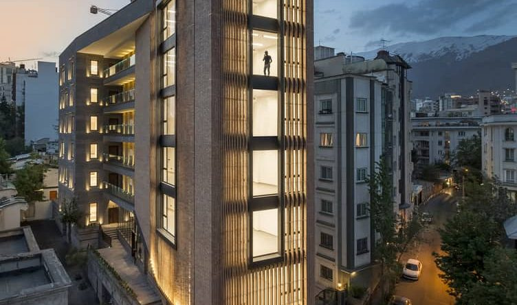 Saba Office Building is built by 7Hoor Architecture Studio + SBAD office with a unique industrial environment