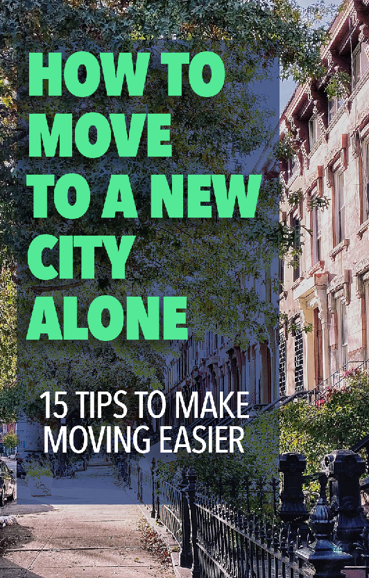 How To Get Away To A New City - 15 Tips